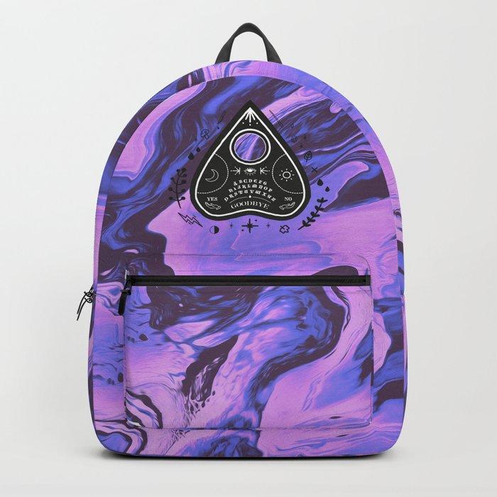 YES, NO, GOODBYE. Backpack