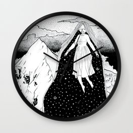 Mountain high Wall Clock