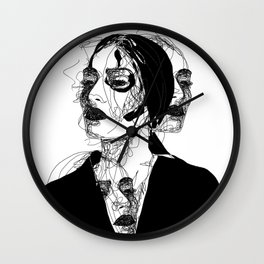 Portrait of every woman Wall Clock