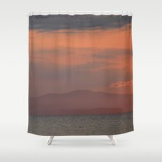 You cannot erase yesterday, but you can choose how  you paint your tomorrow. Shower Curtain