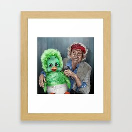 Keith and Orville Framed Art Print