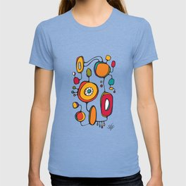 Scribbles 01 in Color T-shirt