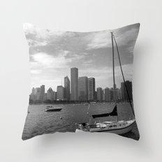 Lakeside Chicago Throw Pillow