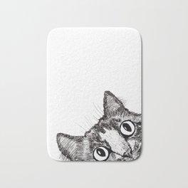 Hey! Cat! Bath Mat