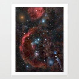 Orion Molecular Cloud Art Print