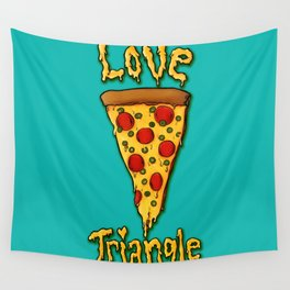 Love Triangle Wall Tapestry