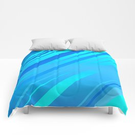 Ocean Feeling Sideways Stripy Comforters