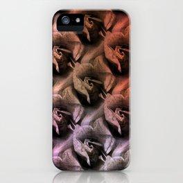 Limestone roses through rosy lenses iPhone Case