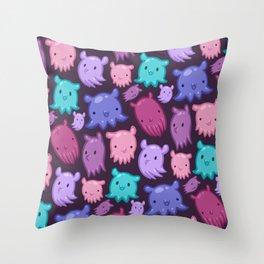 Dumbee Octee Throw Pillow