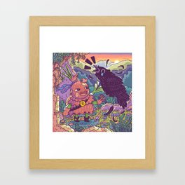 Onion Knight Framed Art Print