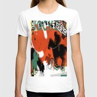 racing T-shirts featuring Horse Racing by Robin Curtiss