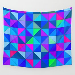 Blue 2 Wall Tapestry
