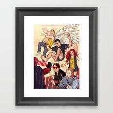 Tribute to X-Men #1 Framed Art Print