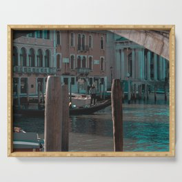 Gondoliere a Venezia Serving Tray