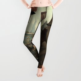 Love Is In The Air-Flappers Invasion Leggings