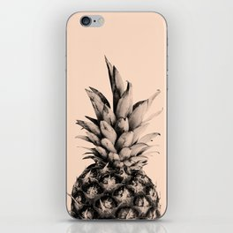 Pineapple on Pink iPhone Skin