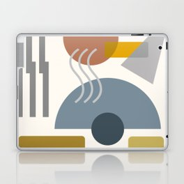 Mid Century Modern Geometric 7 #society6 #decor #buyart #artprint Laptop & iPad Skin