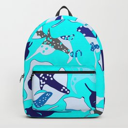 Stringrays within Backpack