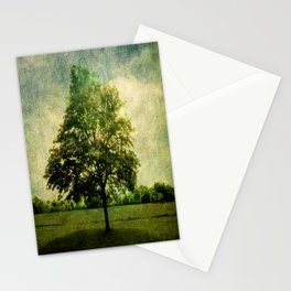 The Textured Tree  Stationery Cards