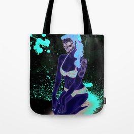 Pin-Up Ghoul Tote Bag