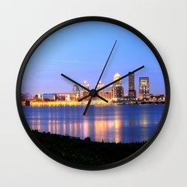 Louisville, KY Wall Clock