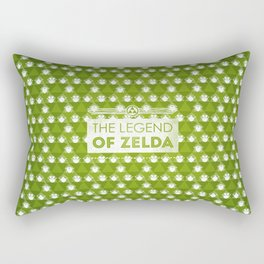 Zelda motif Rectangular Pillow