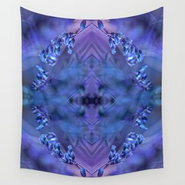 BLUE SPANGLES no1C Wall Tapestry