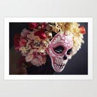 April Blossom Detail Art Print