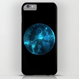 Yin Yang Super Saiyan God Symbol iPhone Case