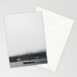 Sailboat and the Fog Stationery Cards
