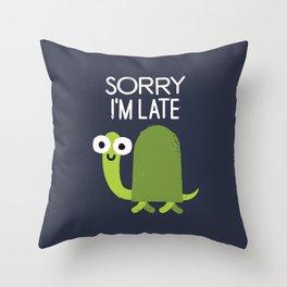 Tardy Animal Throw Pillow