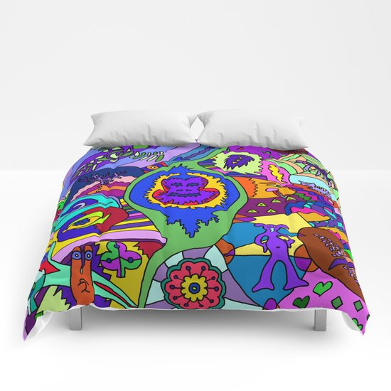 Abstract 18 Comforters