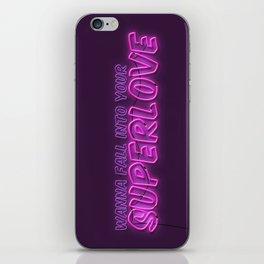 SuperLove / Charli XCX iPhone Skin