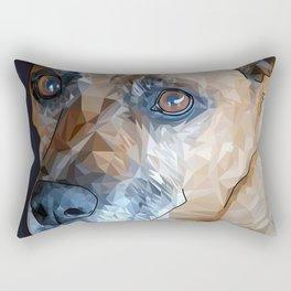 Mosley Dog Rectangular Pillow
