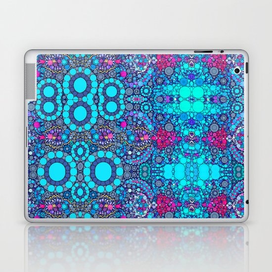 Turquoise jewels  Laptop & iPad Skin