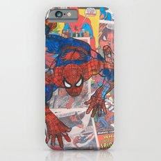 vintage comic spider man  Slim Case iPhone 6s