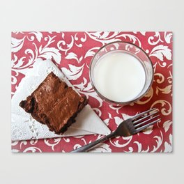 Double Fudge Canvas Print