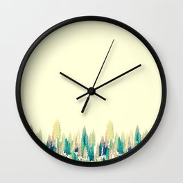 Little Trees Wall Clock