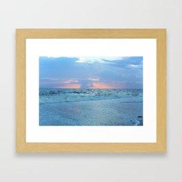 Restless Oceans Framed Art Print
