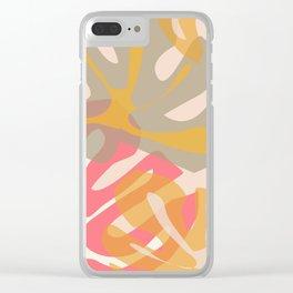 Tropical Wishes Clear iPhone Case