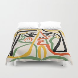 Picasso - Woman's head #1 Bettbezug