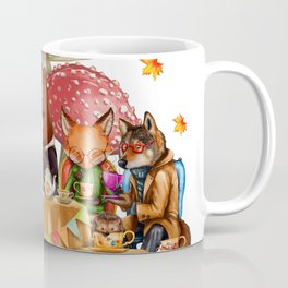 Autumn tea party #3 Coffee Mug