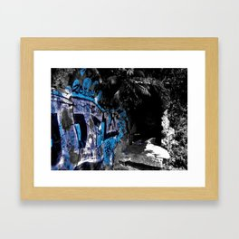Graffiti Time Stamp  Framed Art Print