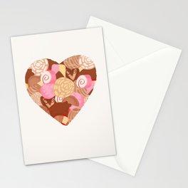 Corazón de Pan Dulce Stationery Cards