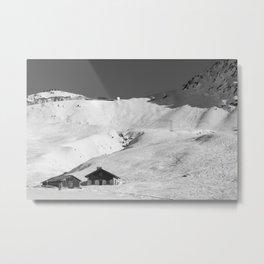 Mountain Huts, Alps, Arcs Metal Print