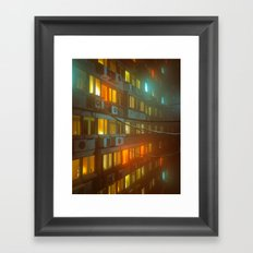 PHASE NINETY (everyday 01.23.17) Framed Art Print
