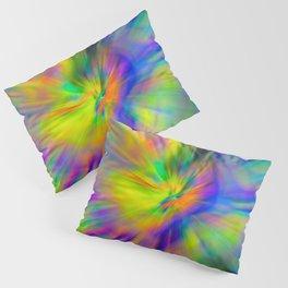 Hallucinogenic Light Painting Pillow Sham