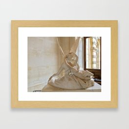 A Kiss is so Complicated Framed Art Print