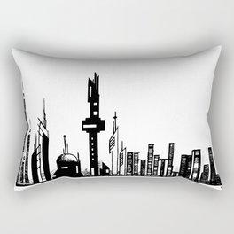 Paysage Urbain 01 / Cityscape 01 Rectangular Pillow