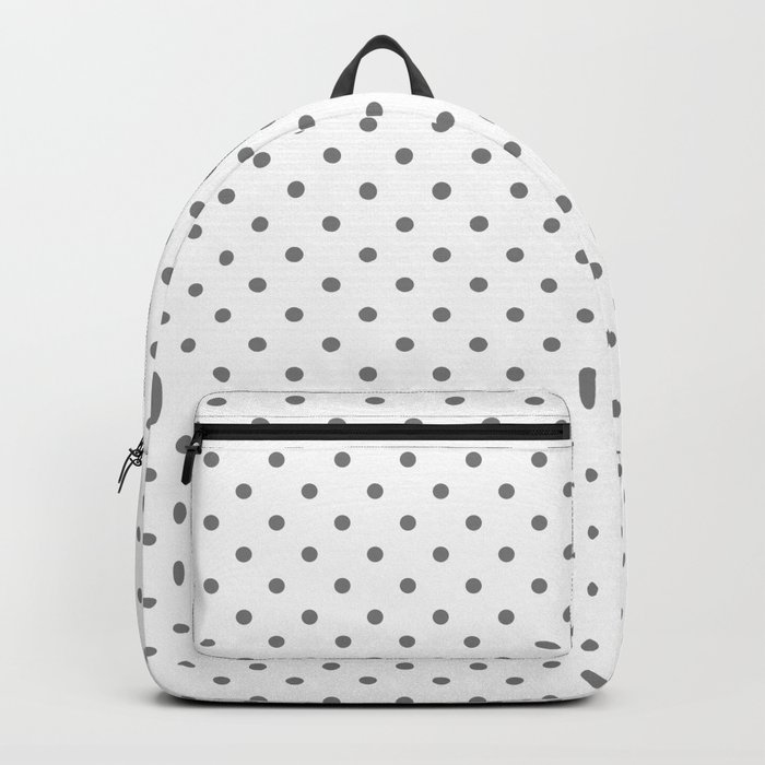 Dots (Gray/White) Rucksack